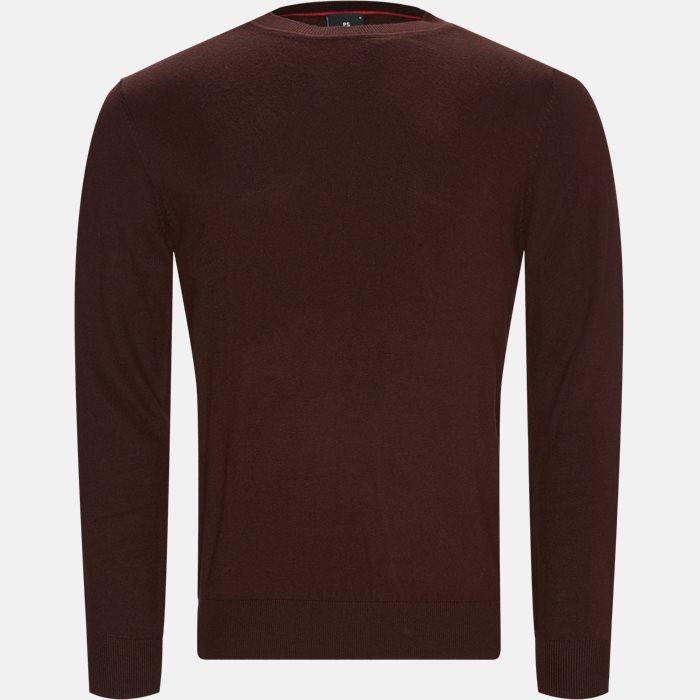 Knitwear - Regular fit - Bordeaux